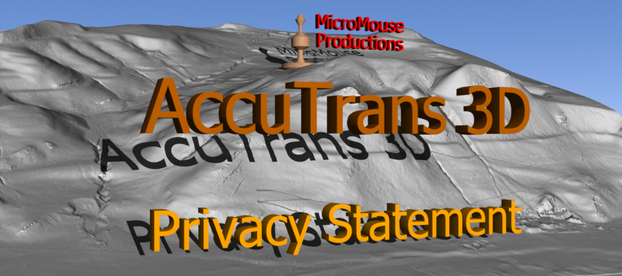 Banner: Privacy Statement